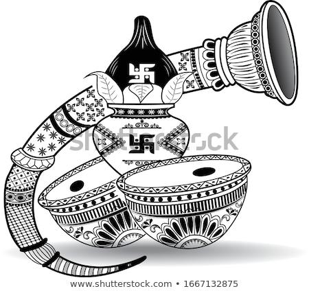 Indian turmeric and roli Stock photo © ziprashantzi