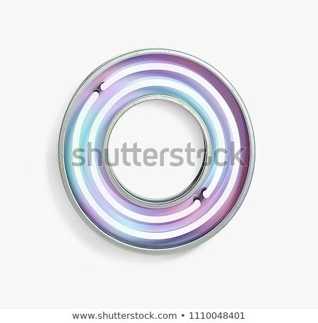 флуоресцентный Трубы новых освещение Сток-фото © Stocksnapper