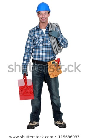 Portrait of a satisfied tradesman Stock photo © photography33
