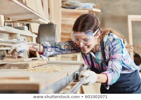 Artisan wood work Stock photo © ivonnewierink