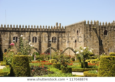 Palace of bishop, Braga, Portugal stock photo © neirfy