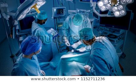 procedimiento · médico · retrato · practicante · presión · arterial · paciente - foto stock © pressmaster