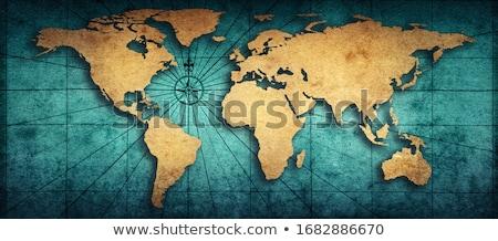 желтый карта Мир международных фон Сток-фото © Balefire9