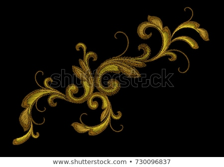 borduurwerk · ornament · collectie · kruis · achtergrond · kunst - stockfoto © vtorous