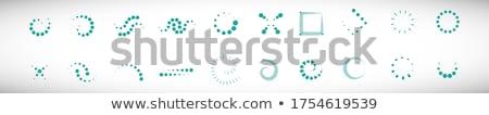 Abstrakten Massage Symbole Vektor Illustrator Internet Stock foto © rioillustrator