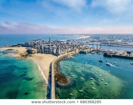 skyline of  Saint Malo, France Stock photo © neirfy