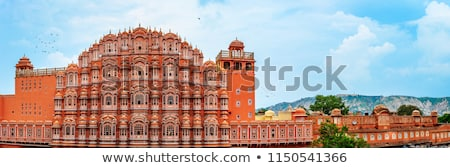 Hawa Mahal, the Palace of Winds in Jaipur, Rajasthan, India. Stock photo © meinzahn