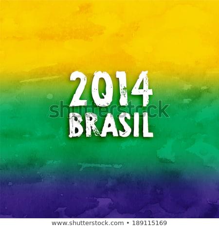 Brazil 2014 Stock photo © almir1968