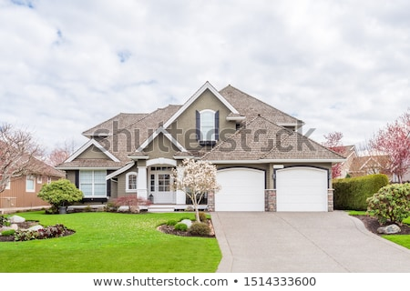 Exterior Of Beautiful Dream Home Stock photo © monkey_business