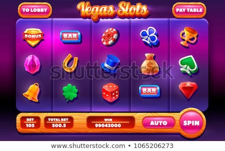 Rood · kristal · steen · juweel · vector · icon - stockfoto © freesoulproduction
