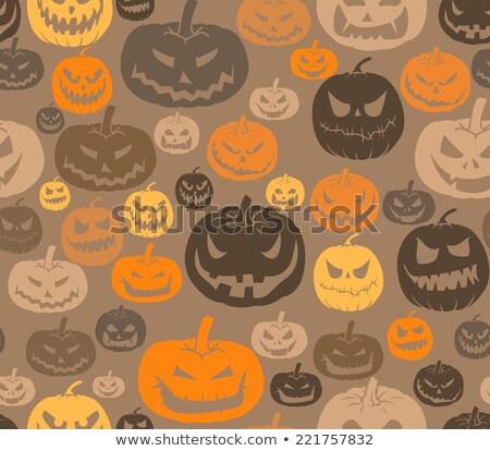 Zucche diverso emozioni sorriso design Foto d'archivio © elenapro