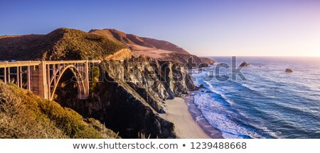 Bixby Creek Bridge - CA-1 (Big Sur)  Stock photo © ivanhor