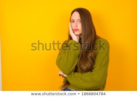 скучно · красоту · женщину · достаточно - Сток-фото © Dave_pot