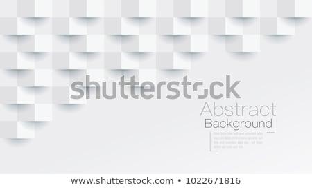 抽象的な 幾何学的な スペース バージョン 美しい ストックフォト © robuart