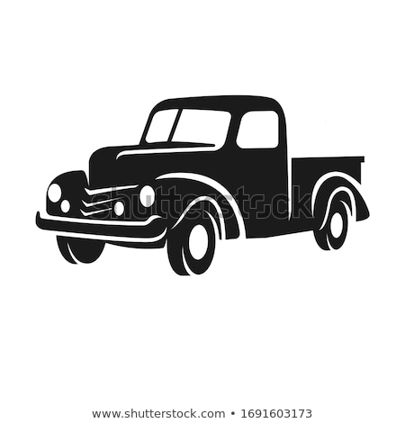 old pickup Stock photo © tracer