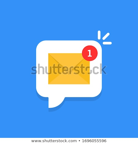 Stock photo: You got message message