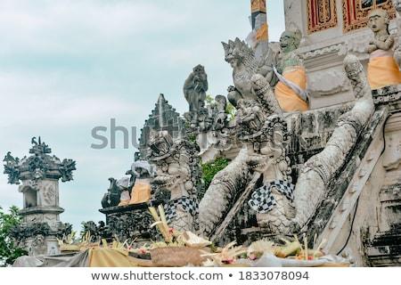 hinduizmus · templom · darab · művészet · kő · szobor - stock fotó © artush