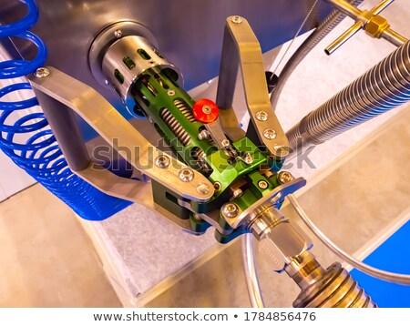 metalic refueling hose stock photo © shutswis