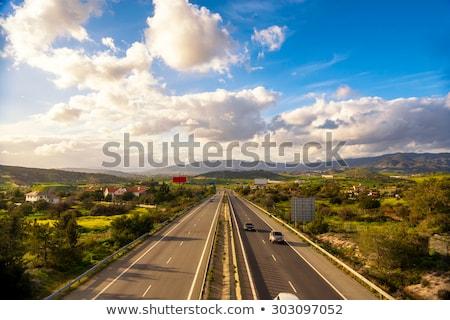 Highway road in Nicosia, Cyprus Stock photo © Kirill_M