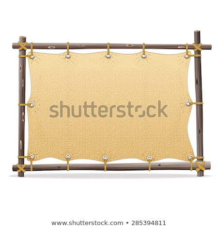 Vector Pirate Frame with Sail Stock photo © dashadima