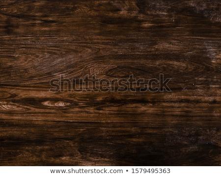 Hout bureau textuur achtergrond donkere patroon Stockfoto © tarczas