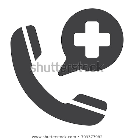 Emergencia teléfono nivel signo Foto stock © ndjohnston