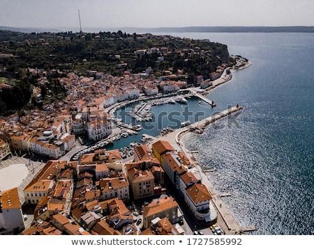 Сток-фото: зданий · старый · город · воды · венецианский · порта · основной