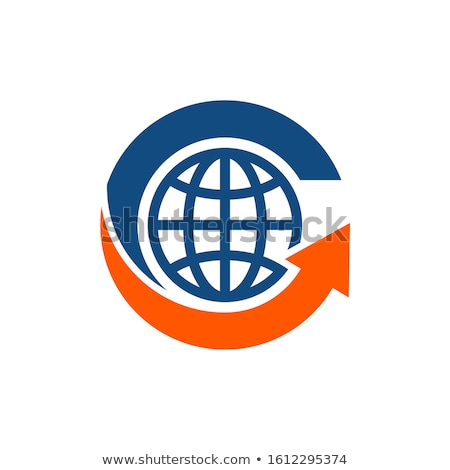 Terre deux monde rendu 3d résumé Photo stock © ijalin