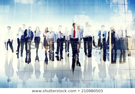 business people group move stock photo © lightsource
