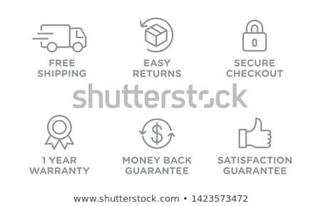 free shipping tag Stock photo © get4net
