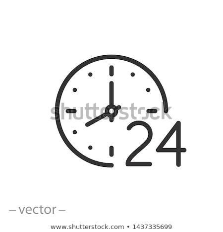 Available around the clock line icon. Stock photo © RAStudio