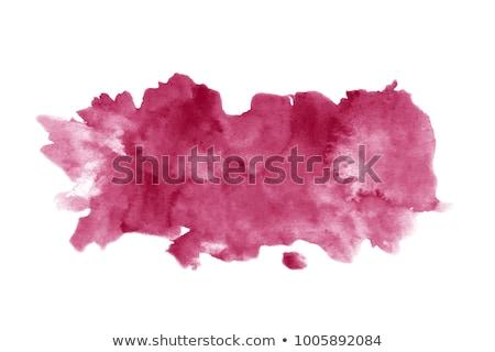 Vinho mancha toalha de mesa tabela vermelho cair Foto stock © racoolstudio
