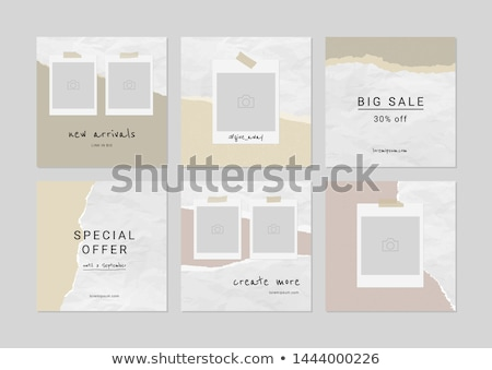 tartalom · szakadt · papír · szó · mögött · szakadt · barna · papír - stock fotó © ivelin