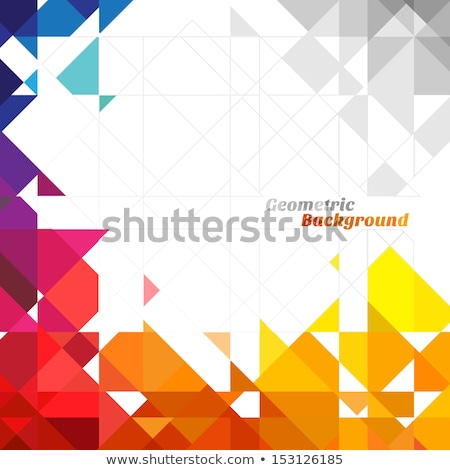 abstract geometric background with place for your text stock photo © marysan