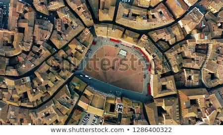 Toscane Italie vieille ville ciel ville Photo stock © lightpoet