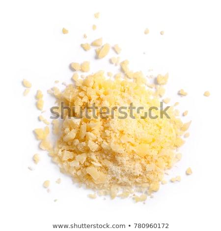 Stockfoto: Parmezaanse · kaas · kom · tomaat · basilicum · voedsel · kaas