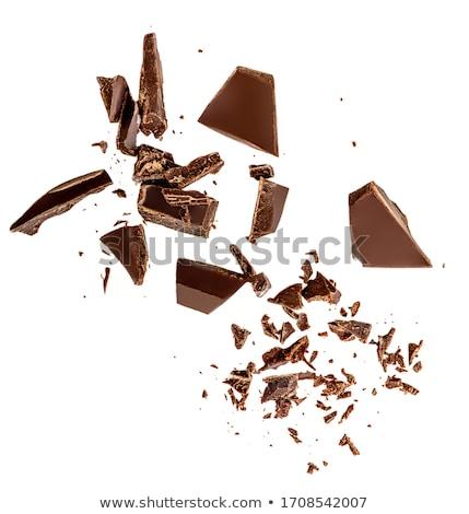 milk chocolate shavings Stock photo © Digifoodstock