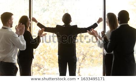 ビジネスチーム · モチベーション · 作業 · ビジネス · オフィス - ストックフォト © is2
