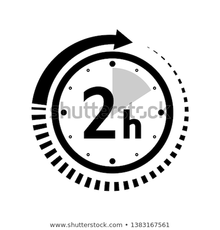 Round-the-clock service icon #2 Stock photo © Oakozhan