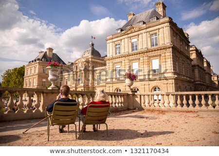 Luksemburg pałac popołudnie piękna parku lata Zdjęcia stock © Givaga