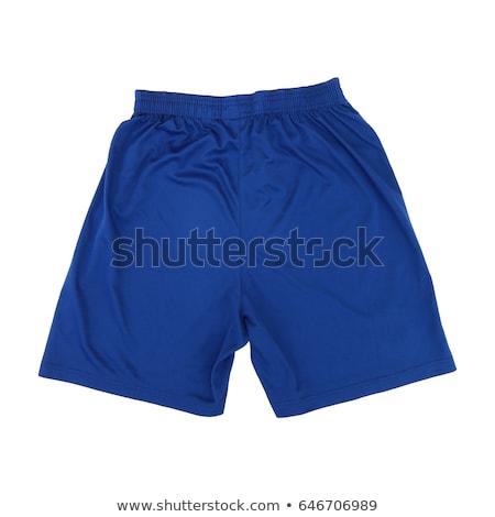Blue short female dress Stock photo © gsermek