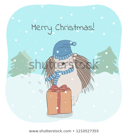 An illustartion of a child with a cold Stock photo © bluering