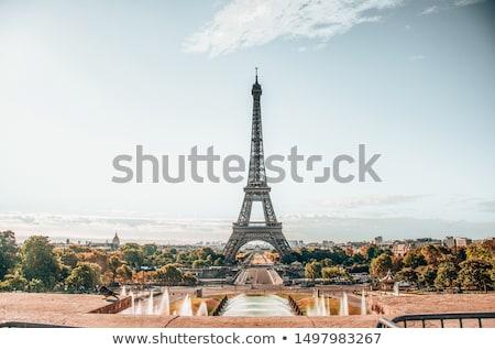 parisian cityscape in morning stock photo © givaga