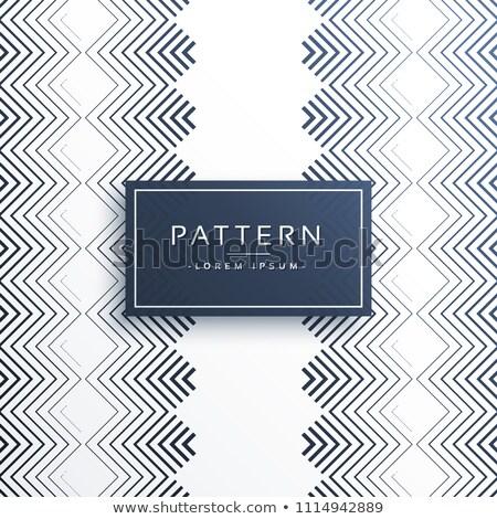 Ziguezague estilo padrão projeto textura Foto stock © SArts