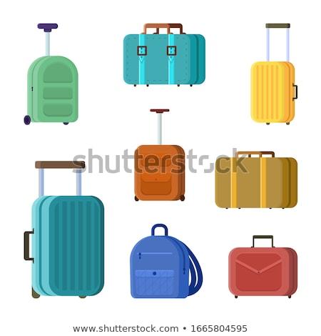 бизнеса семьи отпуск путешествия Камера сумочка Сток-фото © MarySan
