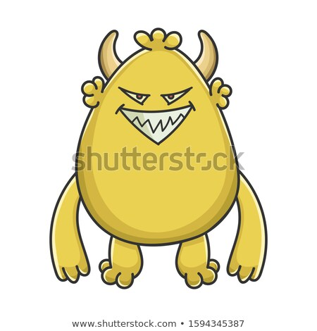 Evil Cartoon Goblin Stock photo © cthoman