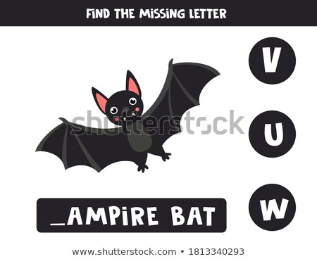 Spell English word bat Stock photo © bluering