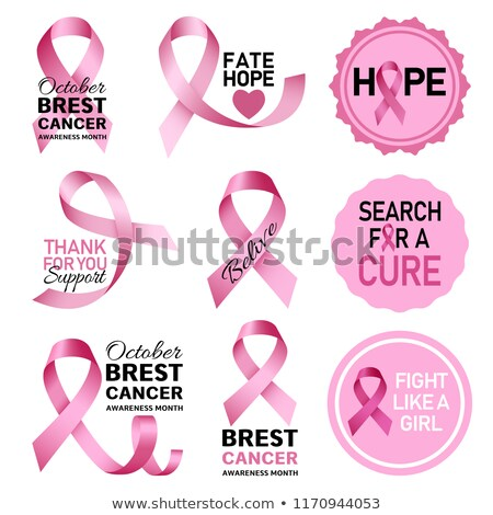 3D · стетоскоп · розовый · Рак · молочной · железы · осведомленность · лента - Сток-фото © nasirkhan