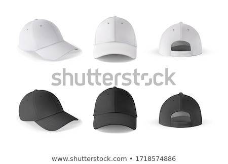 vector set of cap stok fotoğraf © olllikeballoon