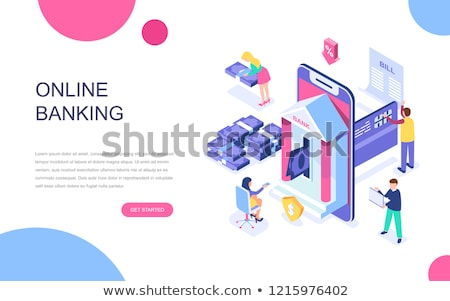 Online Support, Internet Payment and Transaction Stock photo © robuart